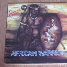 Discos de vinilo: AFRICAN WARRIOR - AFRICAN WARRIOR - WARNER - MADE IN FRANCIA - WEA - LP -. Lote 71111173