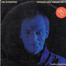 Discos de vinilo: JIM DIAMOND SINGLE 1984. Lote 71124925