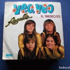 Disques de vinyle: REGALIZ VEO VEO/EL TRENECITO 7 SINGLE 1981 BELTER. Lote 71147217
