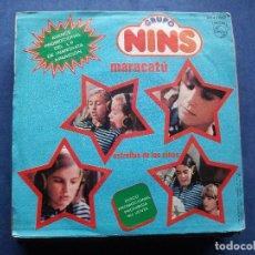 Disques de vinyle: GRUPO NINS MARACATU/ESTRELLAS DE LOS NIÑOS 7 SINGLE 1981 PHILIPS PROMO PROMOCIONAL. Lote 71147297