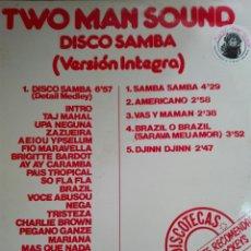 Discos de vinilo: TWO MAN SOUND DISCO SAMBA. Lote 71159023