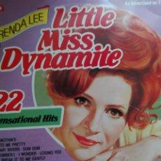 Discos de vinilo: BRENDA LEE LITTLE MISS DYNAMITE. Lote 71159417