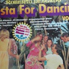 Discos de vinilo: ROBERTO DELGADO FIESTA FOR DANCING. Lote 71159974