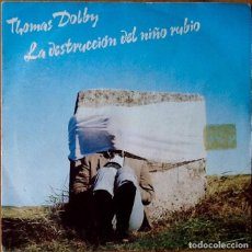 Discos de vinilo: THOMAS DOLBY : AIRWAVES / THE WRECK OF THE FAIRCHILD [ESP 1982] 7'. Lote 71168169
