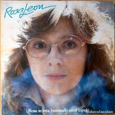 Disques de vinyle: ROSA LEON : ROSA SE ESTA BUSCANDO EN EL ESPEJO [ESP 1983]. Lote 71170309