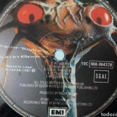 Discos de vinilo: ROGER TAYLOR ( QUEEN ) FUN IN SPACE 1981 SÓLO DISCO, SIN PORTADA. Lote 71170449