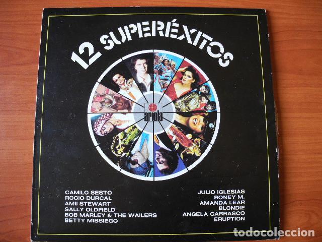 12 SUPERÉXITOS. (Música - Discos - LP Vinilo - Grupos Españoles de los 70 y 80)