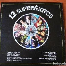 Discos de vinilo: 12 SUPERÉXITOS.. Lote 71193485