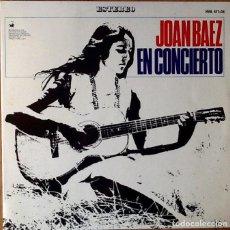 Discos de vinilo: JOAN BAEZ : EN CONCIERTO [ESP 1966]. Lote 71200829