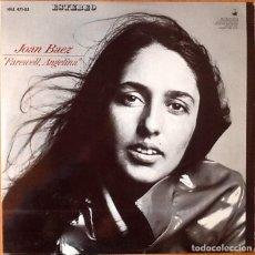 Discos de vinilo: JOAN BAEZ : FAREWELL ANGELINA [ESP 1965]. Lote 71201213