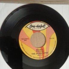 Discos de vinilo: MICHAEL JACKSON JACKSON 5 BIG BOY ONE DERFUL SINGLE VINILO. Lote 71208253
