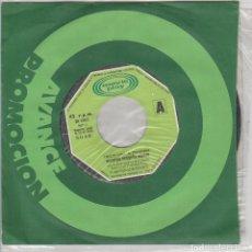 Discos de vinilo: NUESTRO PEQUEÑO MUNDO / TRISTE VIDA / MARYLIN MONROE (SINGLE PROMO 1973). Lote 71227931