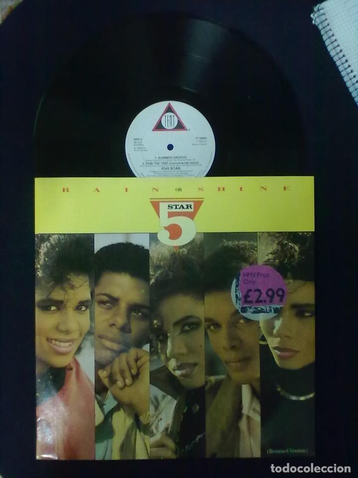 5 STAR RAIN ON SHINE MAXI (Música - Discos de Vinilo - Maxi Singles - Disco y Dance)
