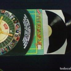 Discos de vinilo: TUTTO SAN REMO 1982 DOBLE LP. Lote 71244983