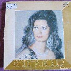 Discos de vinilo: LP - CONCHA PIQUER - LA OBRA DE CONCHA PIQUER VOL. 4 (SPAIN, EMI REGAL 1975). Lote 71332043