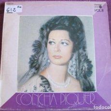 Discos de vinilo: LP - CONCHA PIQUER - LA OBRA DE CONCHA PIQUER VOL. 3 (SPAIN, EMI REGAL 1975). Lote 71332991