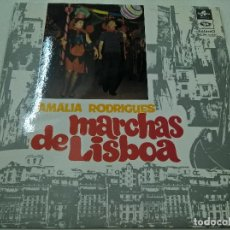Discos de vinilo: AMALIA RODRIGUES-MARCHAS DE LISBOA-LP-N. Lote 71387427
