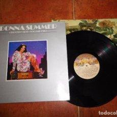 Discos de vinilo: DONNA SUMMER GREATEST HITS VOLUME TWO LP VINILO DEL AÑO 1980 CON ENCARTE CONTIENE 7 TEMAS. Lote 71401095