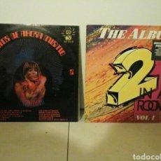 Discos de vinilo: DISCOS (2) ÉXITOS DE AHORA MISMO N 2 Y THE ALBUM 2 IN A ROOM VOL1. Lote 71419922
