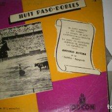 Discos de vinilo: ANTONIO ROVIRA ET SA BANDA ESPAGNOLE - HUIT PASO-DOBLES - 1959 - LP. Lote 71420563