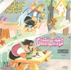 Discos de vinilo: TEATRO INFANTIL SAMANIEGO - GARBANCITO + LOS TRES OSITOS SINGLE 1971 SPAIN . Lote 71449935