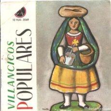 Discos de vinilo: CORO PARROQUIAL DE HINOJOSA DE DUERO + CORO PARROQUIAL DE LUMBRALES- VILLANCICOS POPULARES EP 1965. Lote 71458127