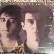 Discos de vinilo: EL ÚLTIMO DE LA FILA. COMO LA CABEZA AL SOMBRERO. REEDICIÓN 2009. Lote 71476843