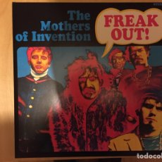 Discos de vinilo: THE MOTHERS OF INVENTION: FREAK OUT! (EDICIÓN DE BARKING PUMPKIN RECORDS). Lote 71481959