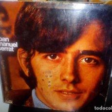 Discos de vinilo: JOAN MANEL SERRAT-COM HO FA EL VENT 1968. Lote 71488463
