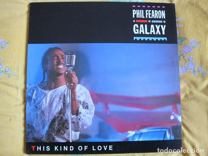 LP - PHIL FEARON AND GALAXY - THIS KIND OF LOVE (SPAIN, ISLAND RECORDS 1985) (Música - Discos - LP Vinilo - Funk, Soul y Black Music)