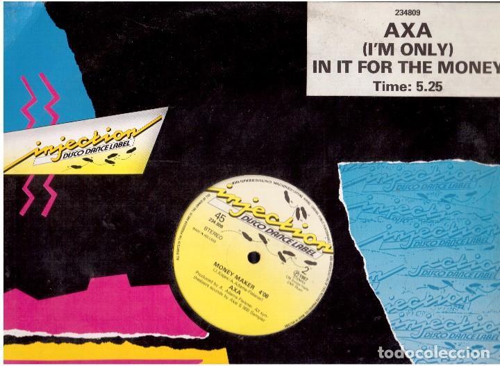 LP VINILO INJECTION (Música - Discos de Vinilo - Singles - Pop - Rock Internacional de los 80)