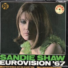 Discos de vinilo: SANDIE SHAW EP 1967 MADE IN SPAIN .. Lote 71493375