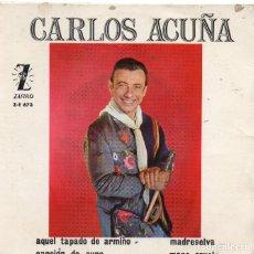 Discos de vinilo: CARLOS ACUÑA EP 1965.-. Lote 71495595