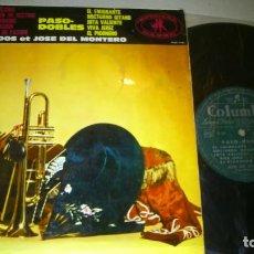 Discos de vinilo: JOSE GRANADOS ET JOSE DEL MONTERO - TANGOS PASODOBLES - 1961 - LP. Lote 71497459