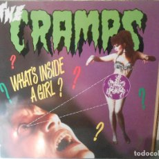Discos de vinilo: THE CRAMPS - WHAT'S INSIDE A GIRL. Lote 71502031
