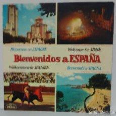 Disques de vinyle: BIENVENIDOS A ESPAÑA - 1964 - REGAL SEDL 19.362. Lote 71504087