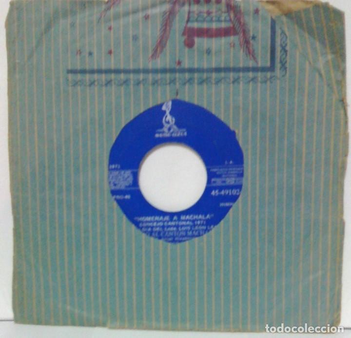 LOS BRILLANTES - HOMENAJE A MACHALA - 1971 - SELLO AZUL -ECUADOR (Música - Discos - Singles Vinilo - Otros estilos)