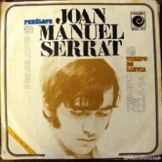 Discos de vinilo: VINILO SINGLE JOAN MANUEL SERRAT PENELOPE. Lote 71515487