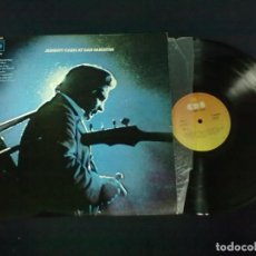 Discos de vinilo: JOHNNY CASH AT SAN QUENTIN. Lote 71518299