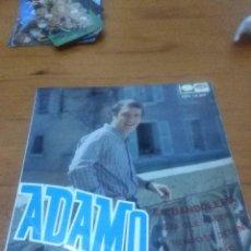 Discos de vinilo: ADAMO. EN BANDOLERA. NADA QUE HACER. MB2. Lote 71534271