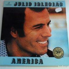 Discos de vinilo: JJ - JULIO IGLESIAS AMÉRICA ORIGINAL LP AÑO 1976 DOBLE PORTADA. Lote 71539067
