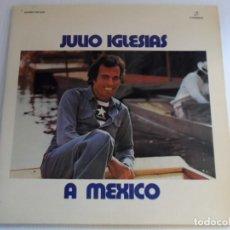 Discos de vinilo: JJ - JULIO IGLESIAS A MÉXICO ORIGINAL LP AÑO 1975 DOBLE PORTADA. Lote 71539247