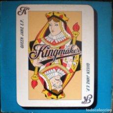 Discos de vinilo: KINGMAKER – QUEEN JANE E.P. 4 TEMAS BRIT POP, INDIE ROCK 1993 . Lote 71552571