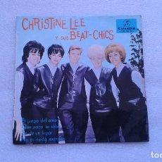Discos de vinilo: CHRISTINE LEE Y SUS BEAT CHICS - EL JUEGO DEL AMOR EP 1965 4 TEMAS EDICION ESPAÑOLA. Lote 71555071
