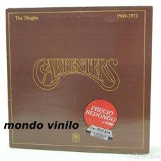 Discos de vinilo: CARPENTERS. THE SINGLES, 1969-1973. LP CARPETA ABIERTA. Lote 71557175