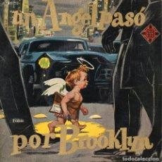 Discos de vinilo: DANIEL TOMAS - ELSA PEJRONE, EP, UN ANGEL PASO POR BROOKLYN + 3, AÑO 1959. Lote 71582267