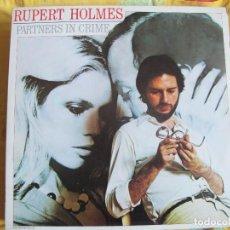 Discos de vinilo: LP - RUPERT HOLMES - PARTNESRS IN CRIME (SPAIN, MCA RECORDS 1979). Lote 71586283