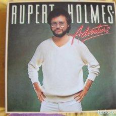 Discos de vinilo: LP - RUPERT HOLMES - ADVENTURE (SPAIN, MCA RECORDS 1980). Lote 71586383
