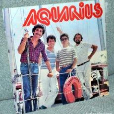 Discos de vinilo: AQUARIUS - LP VINILO 12'' - EDITADO EN ESPAÑA - 12 TRACKS - MALLER 1981. Lote 71592135