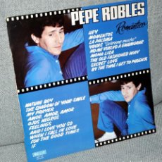 Discos de vinilo: PEPE ROBLES - LP ALBUM VINILO 12'' - EDITADO EN ESPAÑA - MALLER 1982. Lote 71592279